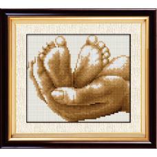 20020 Жизнь в руках. Dream Art. Набор алмазной мозаики (круглые камни, полная)
