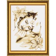 20022 Влюбленная пара. Dream Art. Набор алмазной мозаики (круглые камни, полная)