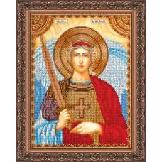 AA-010 Святий Михаїл. Абрис Арт. Набір для вишивання бісером (АА-010)