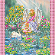 AC-047 Райський сад. Абрис Арт. Схема на полотні для вишивання бісером (АС-047)
