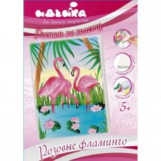 7125/3 Рожеві фламінго. Ідейка. Набір для малювання картини