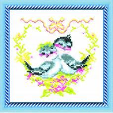 185 Пташки. Чарівна Мить. Набір для вишивання нитками