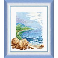 209 Море (ліва частина). Чарівна Мить. Набір для вишивання нитками