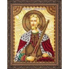 AA-019 Святий Олександр. Абрис Арт. Набір для вишивання бісером (АА-019)