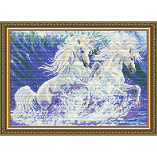 AT3010 Единороги. ArtSolo. Набор алмазной живописи