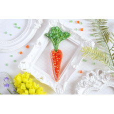 Б-017 Брошь Гламурная морковка. Тэла Артис. Набор для вышивки бисером