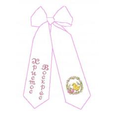 Б-028 Великодній бант. Княгиня Ольга. Схема на тканині для вишивання бісером