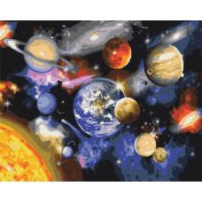 BS22268 Парад планет. Brushme. Картина за номерами