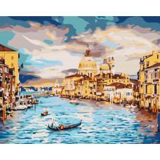 BS22296 Небесная Венеция. Brushme. Картина по номерам