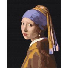 BS223 Дівчина з перловою сережкою. Ян Вермеер. Brushme. Картина за номерами