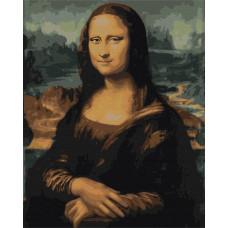BS241 Мона Ліза. Brushme. Картина за номерами