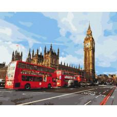 BS30085 Магія Лондону. Brushme. Картина за номерами