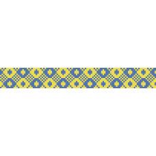 БВЗ-004 Браслет (2,5 см). ВДВ. Схема на ткани для вышивания бисером