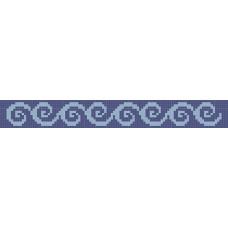 БВЗ-005 Браслет (2,5 см). ВДВ. Схема на ткани для вышивания бисером(Снят с производства)