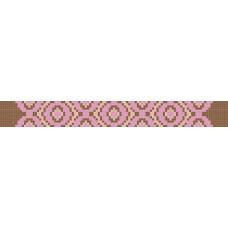 БВЗ-006 Браслет (2,5 см). ВДВ. Схема на ткани для вышивания бисером