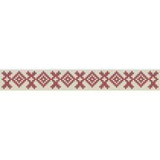 БВЗ-007 Браслет (2,5 см). ВДВ. Схема на ткани для вышивания бисером