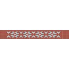 БВЗ-008 Браслет (2,5 см). ВДВ. Схема на ткани для вышивания бисером