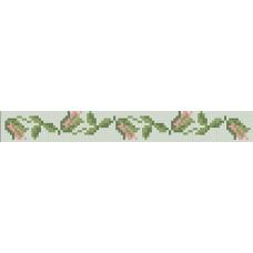 БВЗ-009 Браслет (2,5 см). ВДВ. Схема на ткани для вышивания бисером