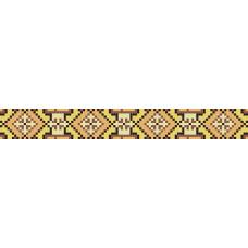 БВЗ-011 Браслет (2,5 см). ВДВ. Схема на ткани для вышивания бисером