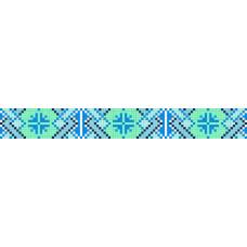 БВЗ-012 Браслет (2,5 см). ВДВ. Схема на ткани для вышивания бисером
