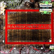 F-010 Фігурна. Форма для печива. Rainbow beads