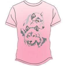 ФЧ-006Р 44 розмір Футболка під вишивку чоловіча (колір - рожевий). Княгиня Ольга. Заготовка для вишивки бісером(Знятий з виробництва)