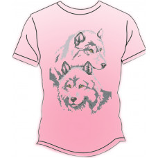 ФЧ-006Р 52 розмір Футболка під вишивку чоловіча (колір - рожевий). Княгиня Ольга. Заготовка для вишивки бісером(Знятий з виробництва)