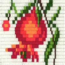 I-004 Гранат. Stitch me. Набор для вышивания вертикальным стежком
