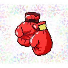 K105 Бокс (10х15 см). Confetti. Водорастворимый флизелин с рисунком