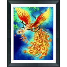 LP007 Жар-птиця. DA. Набір алмазної мозаїки (стрази)