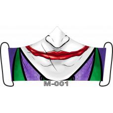 М-001M Баф-маска (розмір M). Rainbow beads