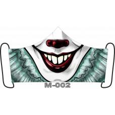 М-002M Баф-маска (розмір M). Rainbow beads