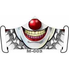 М-003M Баф-маска (розмір M). Rainbow beads
