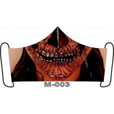 М-004L Баф-маска (розмір L). Rainbow beads