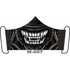М-007L Баф-маска (розмір L). Rainbow beads