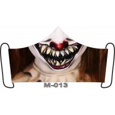 М-013M Баф-маска (розмір M). Rainbow beads