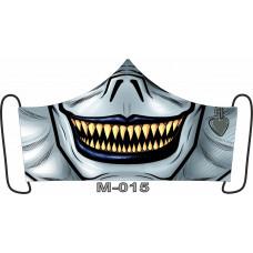 М-015M Баф-маска (розмір M). Rainbow beads