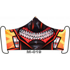 М-019M Баф-маска (розмір M). Rainbow beads