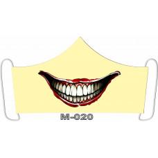 М-020M Баф-маска (розмір M). Rainbow beads