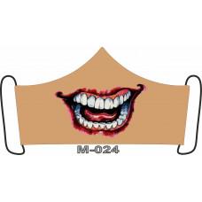 М-024M Баф-маска (розмір M). Rainbow beads