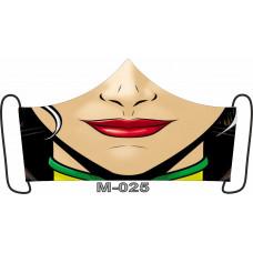 М-025M Баф-маска (розмір M). Rainbow beads