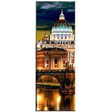 МРТ0003 Вечір у Римі частина 3. Папертоль. Набір картини з паперу