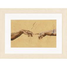 PN-0007975 Сотворение Адама. LanArte. Набор для вышивки крестом