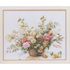 PN-0008004(34714) Букет роз. LanArte. Набор для вышивки крестом