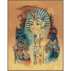 PN-0008006 Фараон Тутанхамон. Lanarte. Набор для вышивки крестом