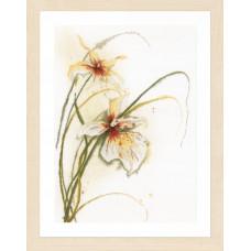 PN-0008014 Орхидея. LanArte. Набор для вышивки крестом