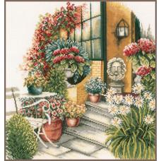 PN-0008016 Осеннее цветение (Терраса). Lanarte. Набор для вышивки крестом