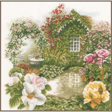 PN-0008019 Rose garden. Lanarte. Набор для вышивки крестом