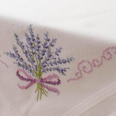 PN-0013208 Lavender (Лаванда). Серветка. Vervaco. Набір для вишивання нитками