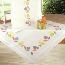PN-0147513 Різнобарвні листя. Скатертина. Набір для вишивки нитками. Vervaco